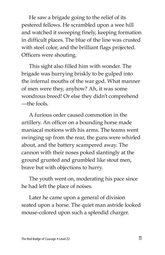 Book Preview For The Red Badge of Courage (Part 5) Page 11