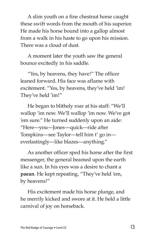 Book Preview For The Red Badge of Courage (Part 5) Page 13