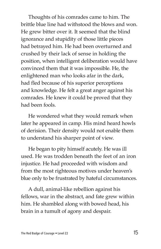Book Preview For The Red Badge of Courage (Part 5) Page 15