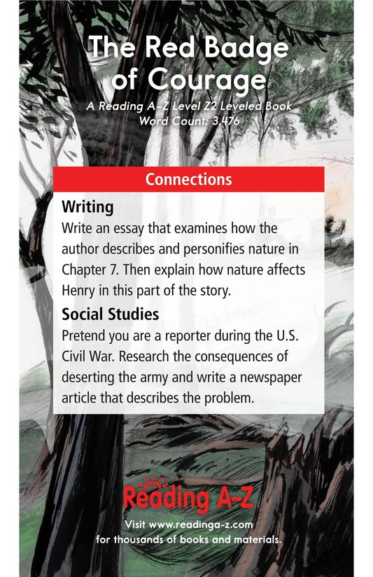 Book Preview For The Red Badge of Courage (Part 5) Page 21