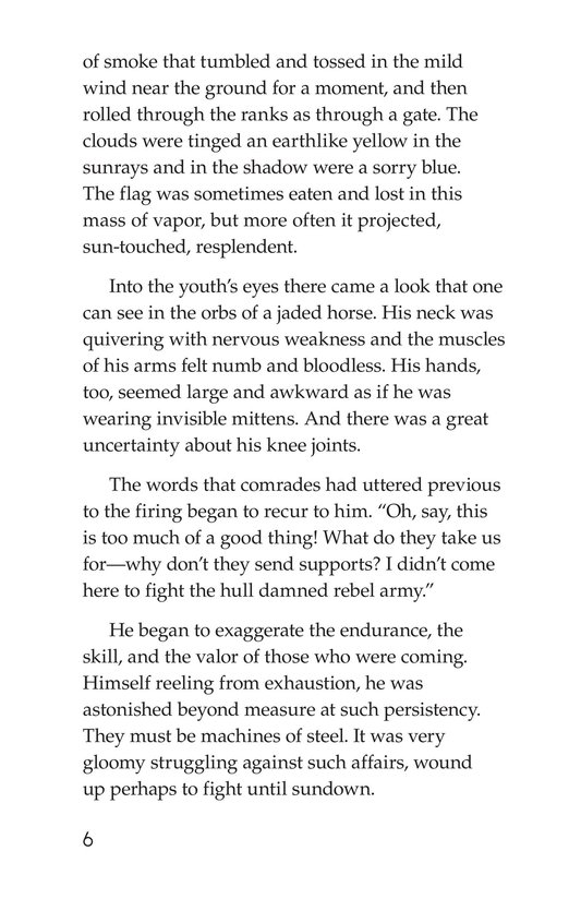 Book Preview For The Red Badge of Courage (Part 5) Page 6