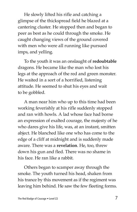 Book Preview For The Red Badge of Courage (Part 5) Page 7