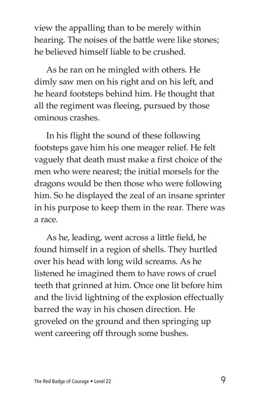 Book Preview For The Red Badge of Courage (Part 5) Page 9