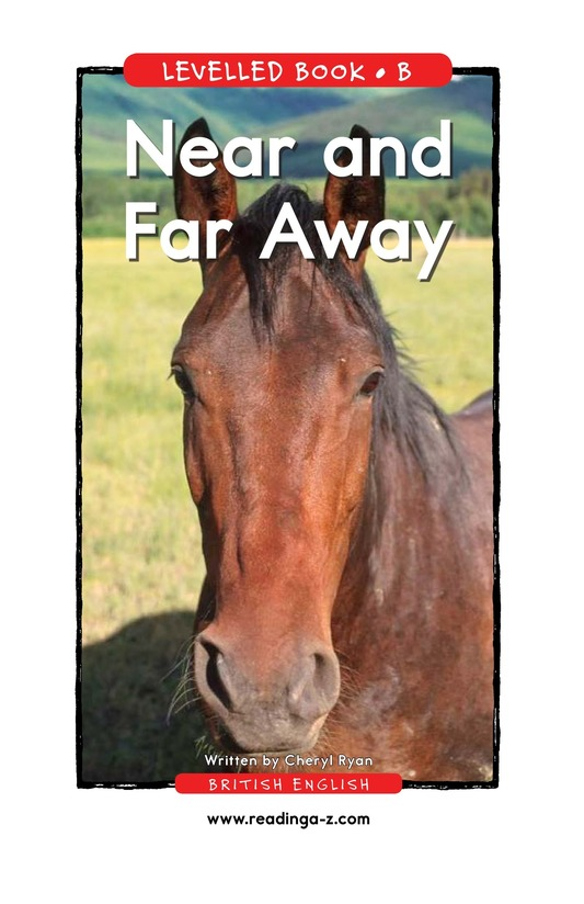 Book Preview For Near and Far Away Page 1