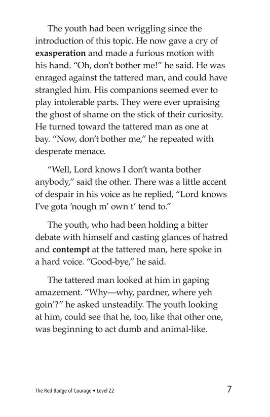 Book Preview For The Red Badge of Courage (Part 7) Page 7