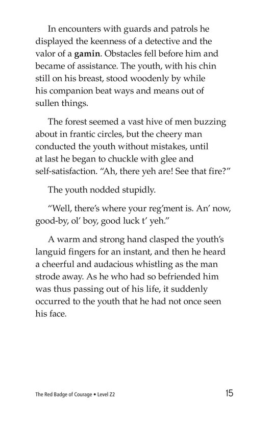 Book Preview For The Red Badge of Courage (Part 8) Page 15