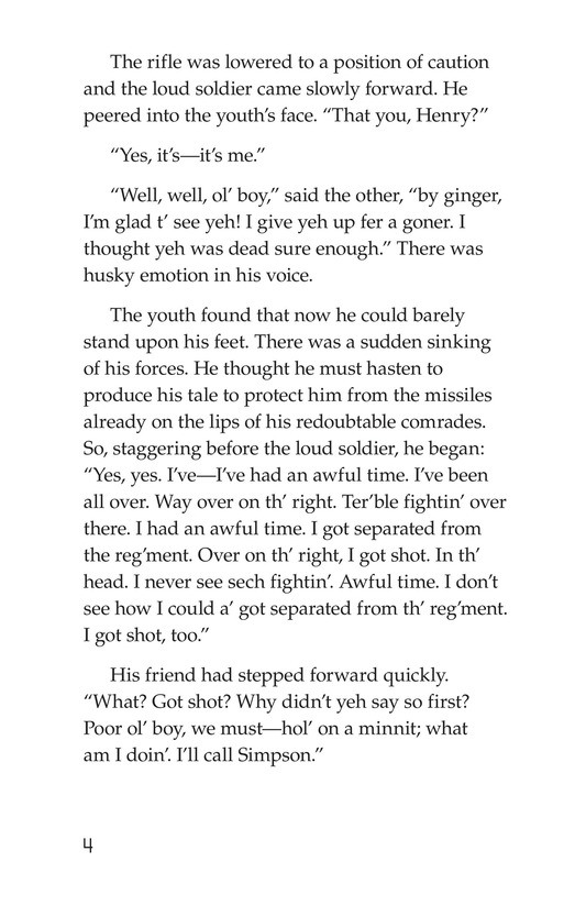 Book Preview For The Red Badge of Courage (Part 9) Page 4