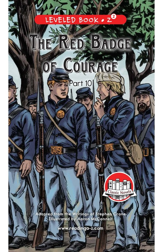 Book Preview For The Red Badge of Courage (Part 10) Page 0