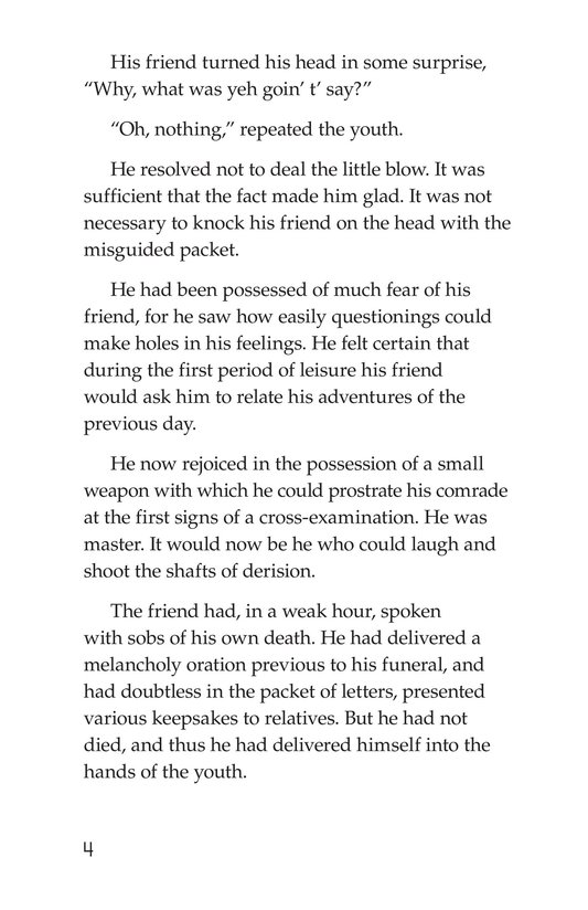 Book Preview For The Red Badge of Courage (Part 10) Page 4