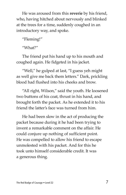 Book Preview For The Red Badge of Courage (Part 10) Page 7