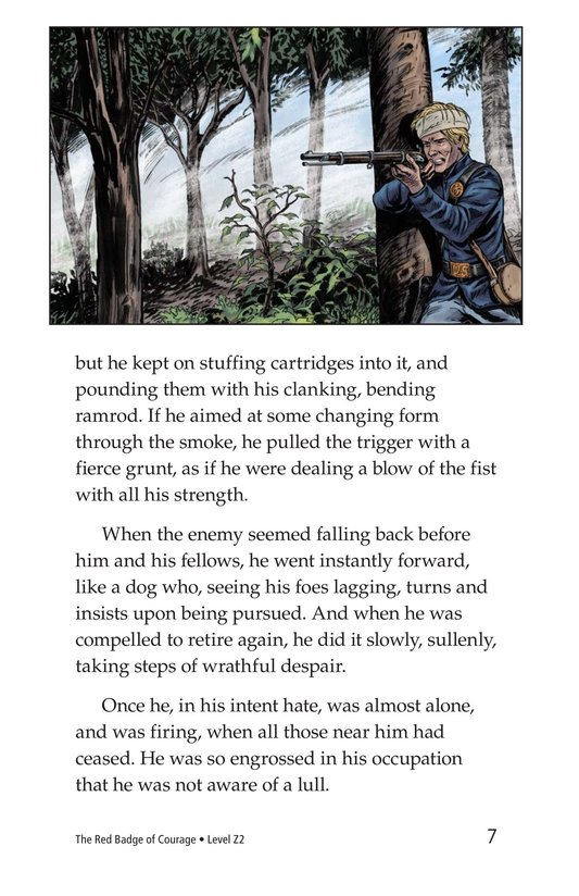 Book Preview For The Red Badge of Courage (Part 11) Page 7