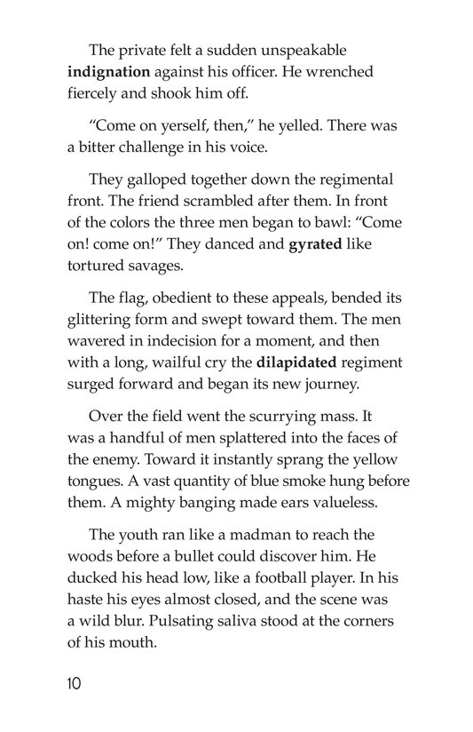 Book Preview For The Red Badge of Courage (Part 12) Page 10