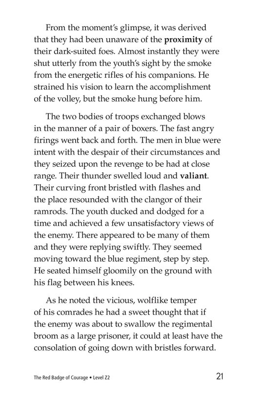 Book Preview For The Red Badge of Courage (Part 12) Page 21