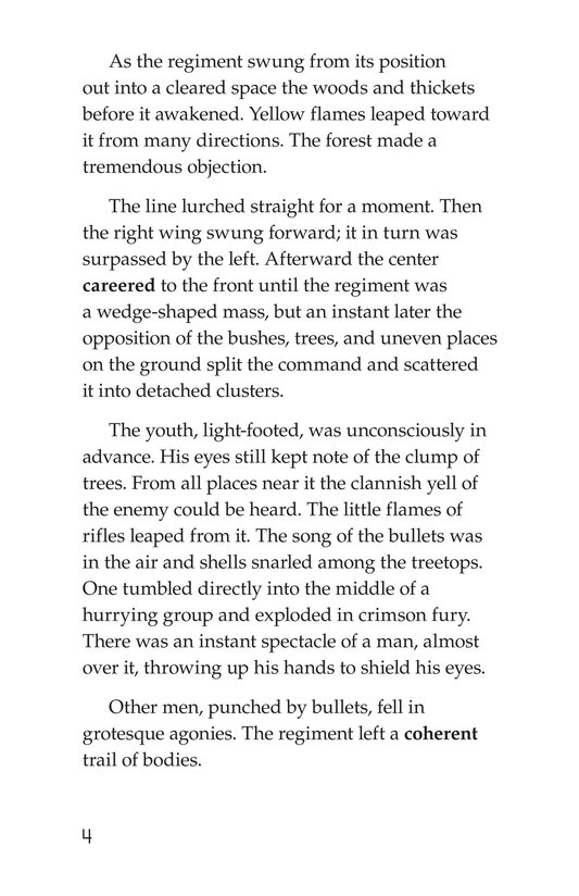 Book Preview For The Red Badge of Courage (Part 12) Page 4