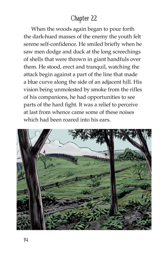 Book Preview For The Red Badge of Courage (Part 13) Page 14