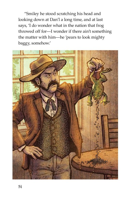 Book Preview For The Celebrated Jumping Frog of Calaveras County Page 14