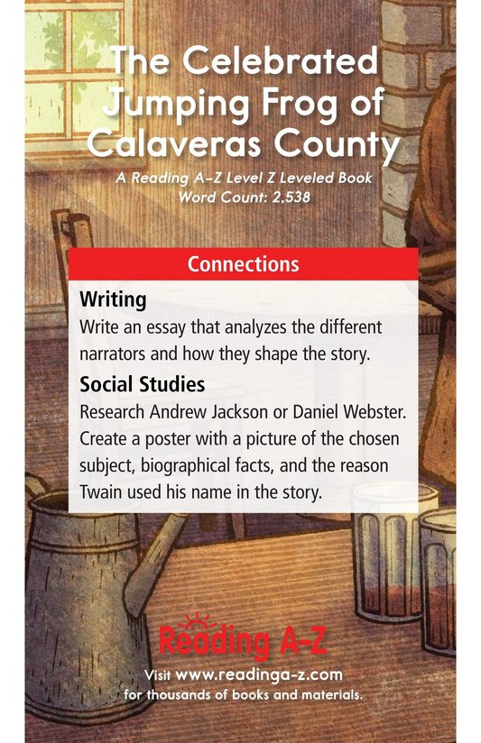 Book Preview For The Celebrated Jumping Frog of Calaveras County Page 17