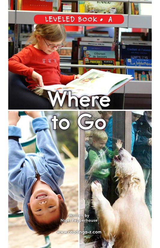 Book Preview For Where To Go Page 0