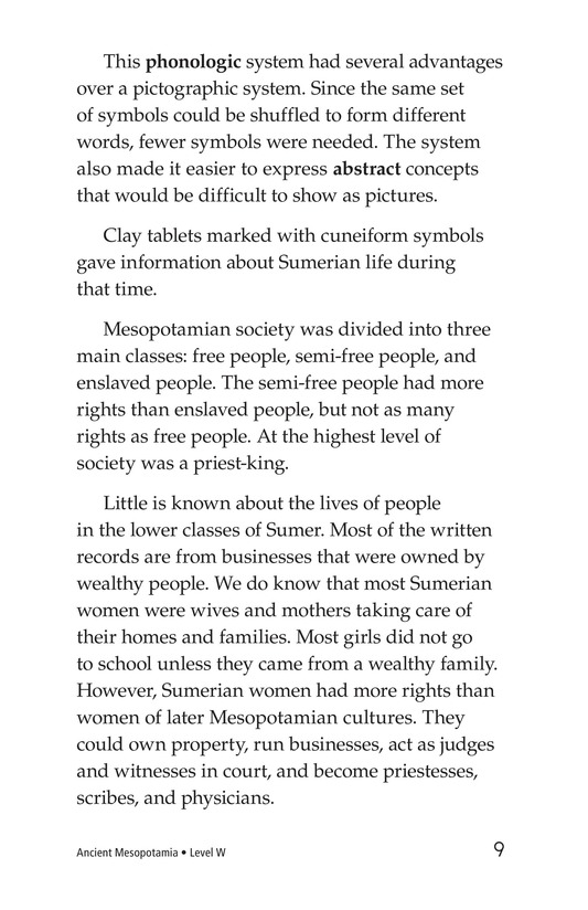 Book Preview For Ancient Mesopotamia Page 9