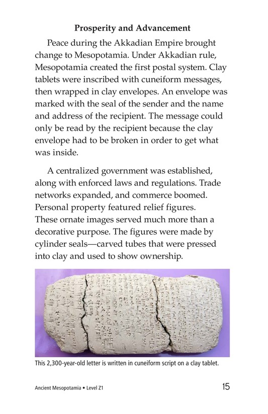 Book Preview For Ancient Mesopotamia Page 15