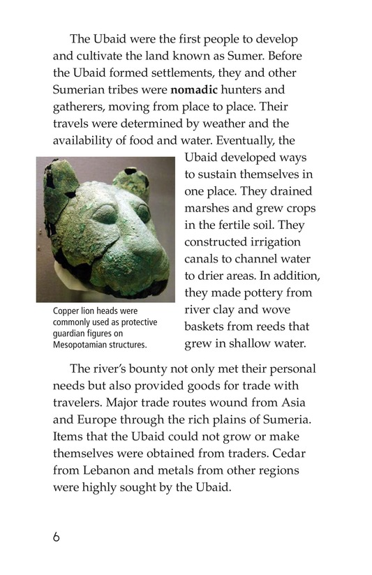 Book Preview For Ancient Mesopotamia Page 6