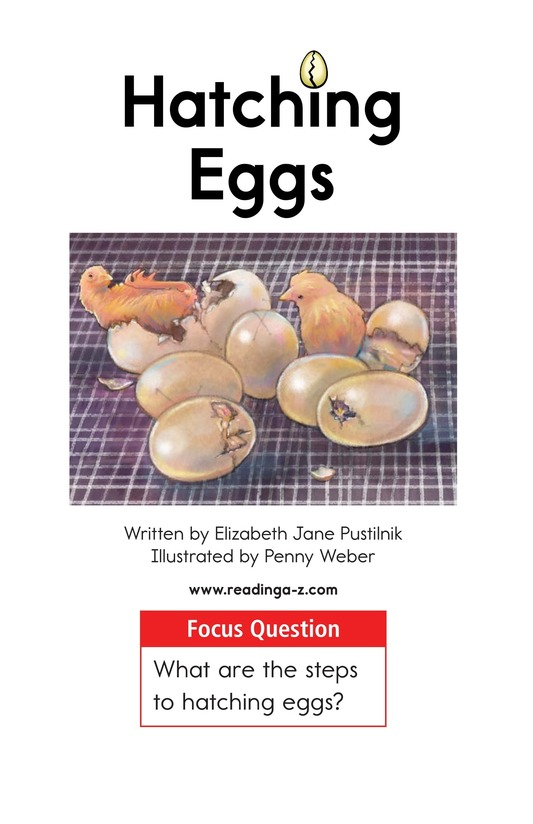 Book Preview For Hatching Eggs Page 1