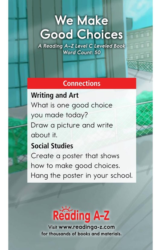 Book Preview For We Make Good Choices Page 11
