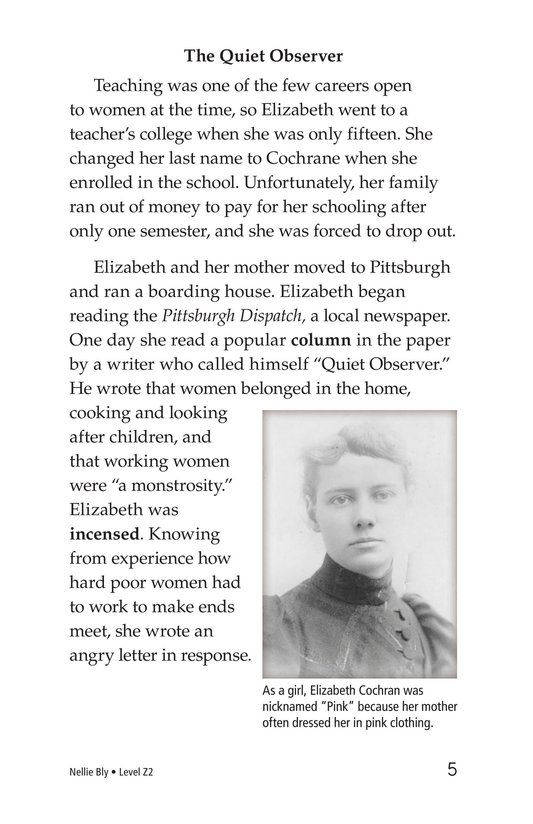 Book Preview For Nellie Bly Page 5