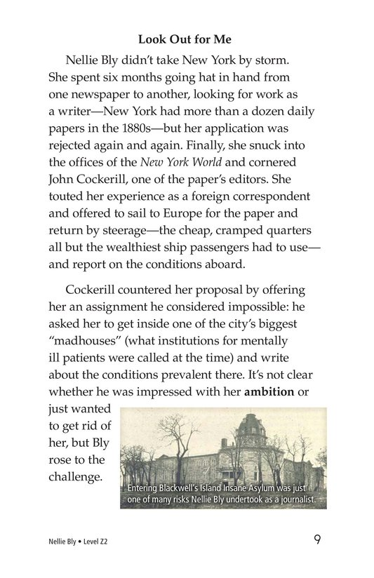 Book Preview For Nellie Bly Page 9