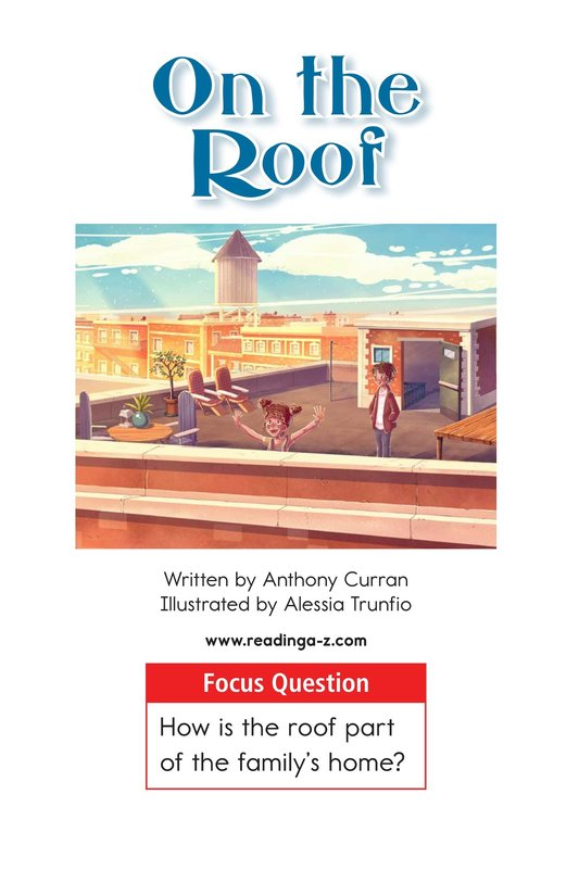 Book Preview For On the Roof Page 1