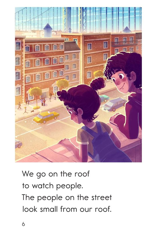 Book Preview For On the Roof Page 6