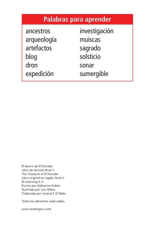 Book Preview For The Treasure of El Dorado Page 2