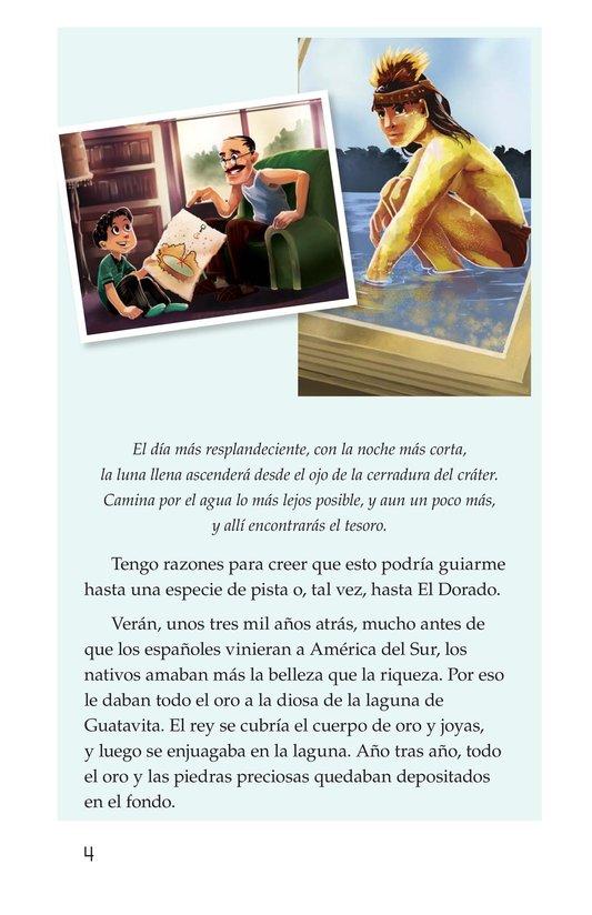 Book Preview For The Treasure of El Dorado Page 4