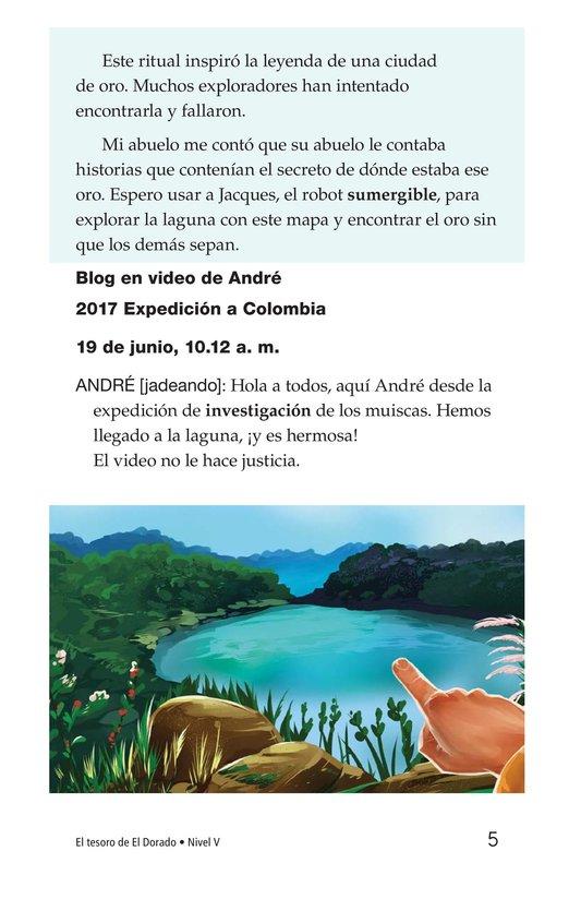 Book Preview For The Treasure of El Dorado Page 5