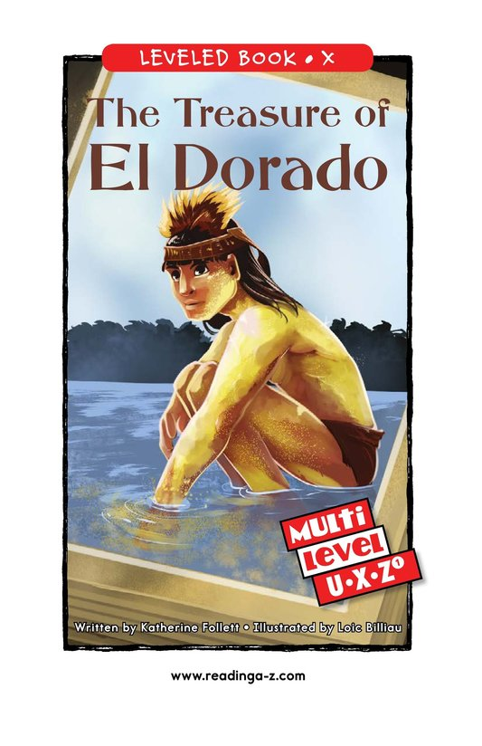 Book Preview For The Treasure of El Dorado Page 0