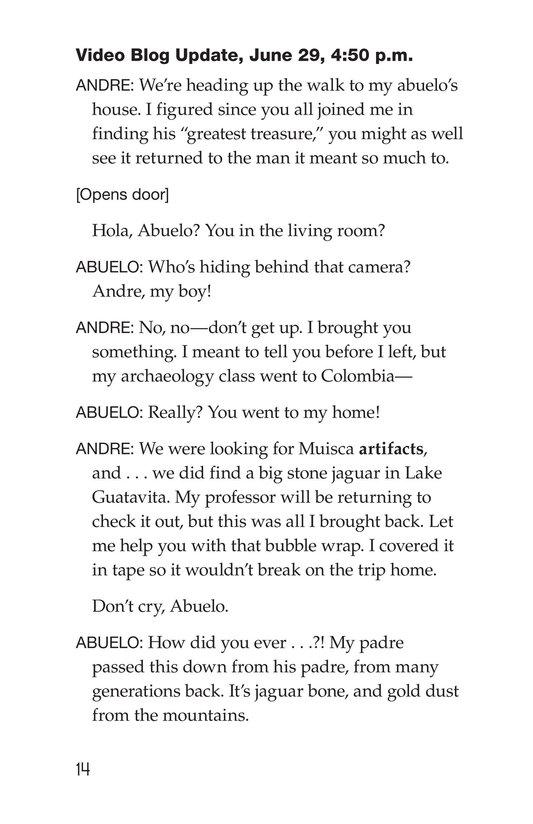 Book Preview For The Treasure of El Dorado Page 14