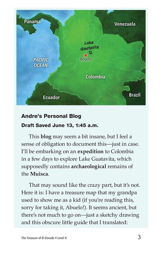 Book Preview For The Treasure of El Dorado Page 3