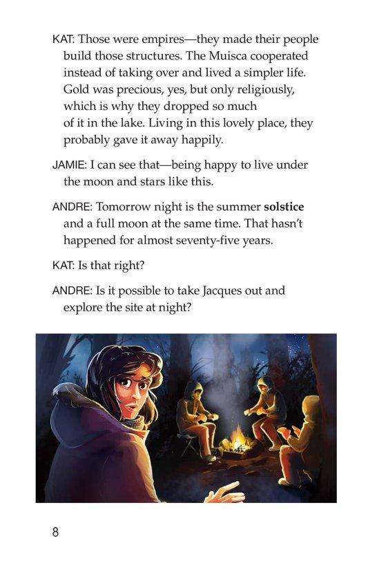 Book Preview For The Treasure of El Dorado Page 8