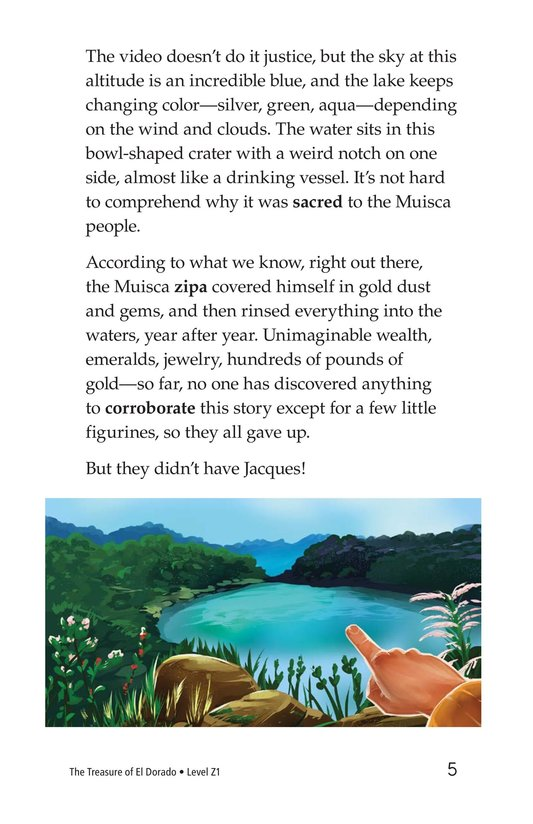 Book Preview For The Treasure of El Dorado Page 5