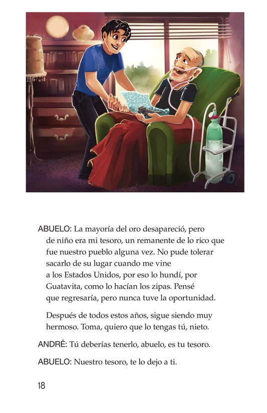Book Preview For The Treasure of El Dorado Page 18