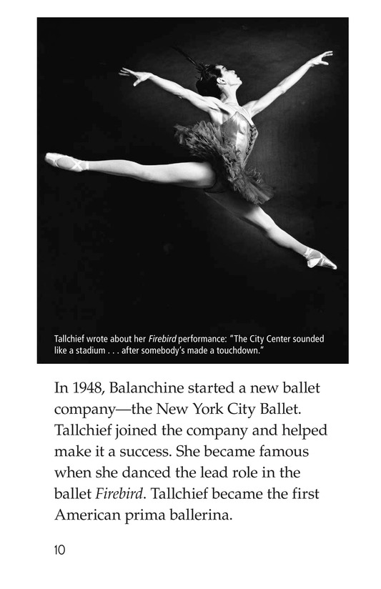 Book Preview For Maria Tallchief: Prima Ballerina Page 10