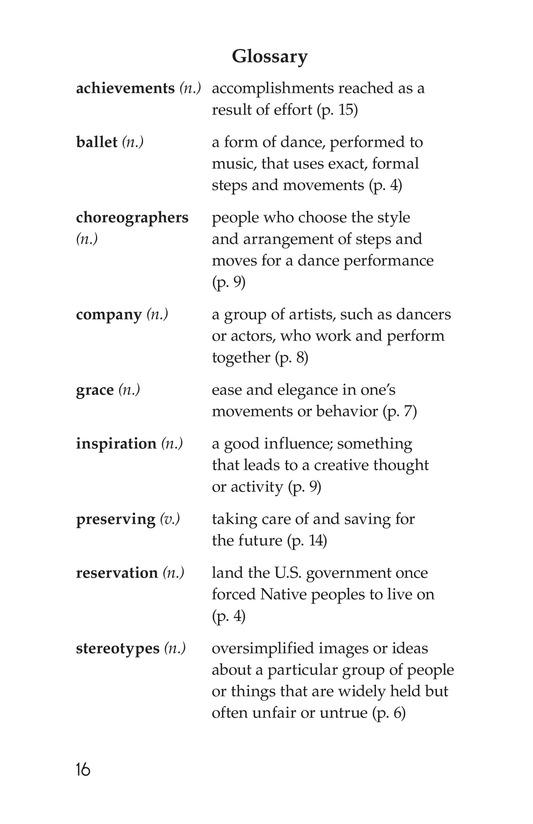 Book Preview For Maria Tallchief: Prima Ballerina Page 16