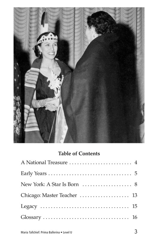 Book Preview For Maria Tallchief: Prima Ballerina Page 3