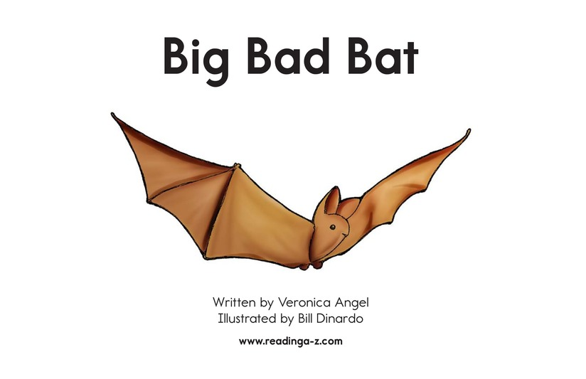 Book Preview For Big Bad Bat Page 2