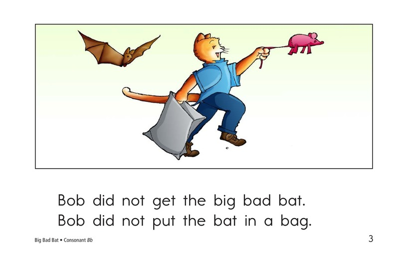 Book Preview For Big Bad Bat Page 3