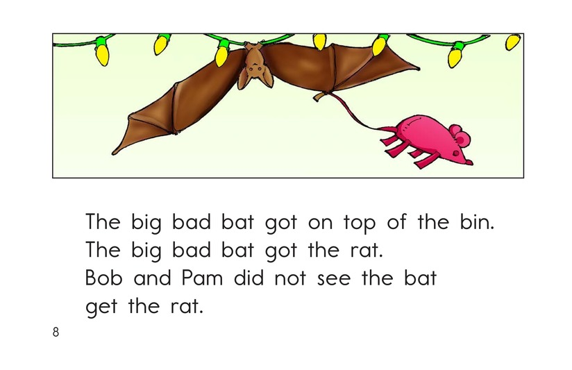 Book Preview For Big Bad Bat Page 8