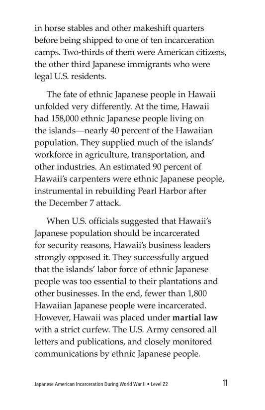 Book Preview For Japanese American Incarceration During World War II Page 11