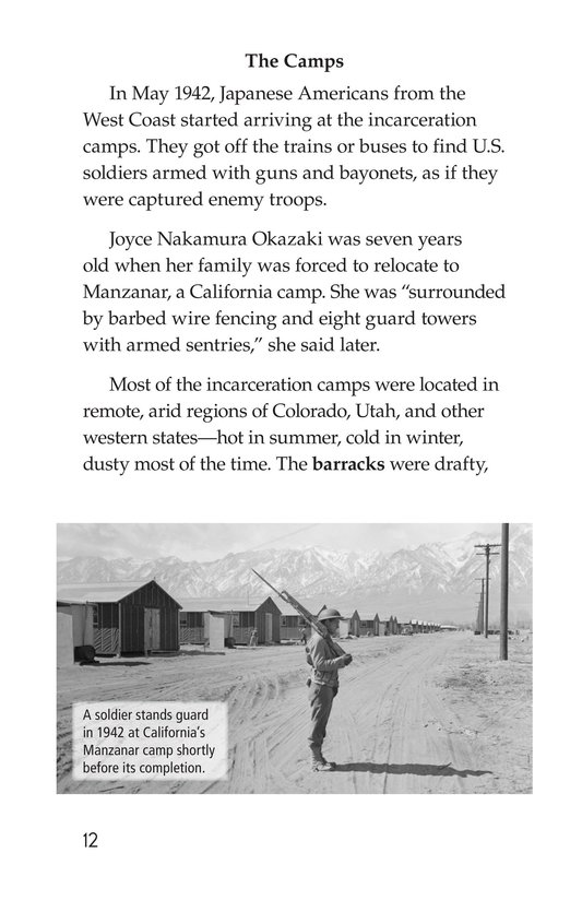 Book Preview For Japanese American Incarceration During World War II Page 12