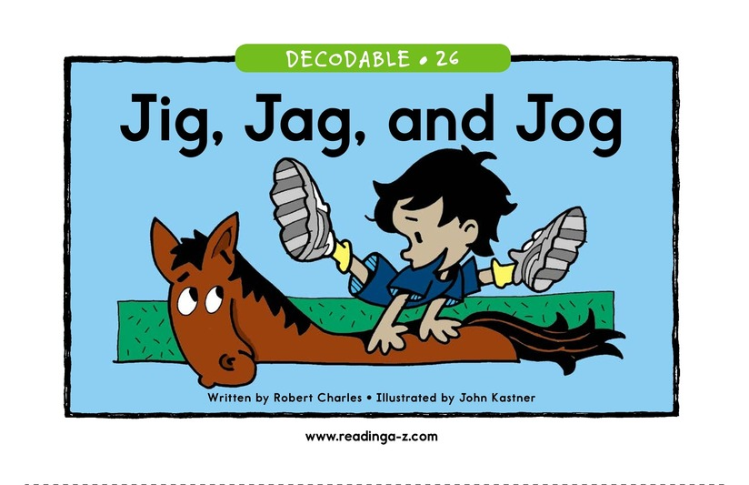 Book Preview For Jig, Jag, and Jog Page 1