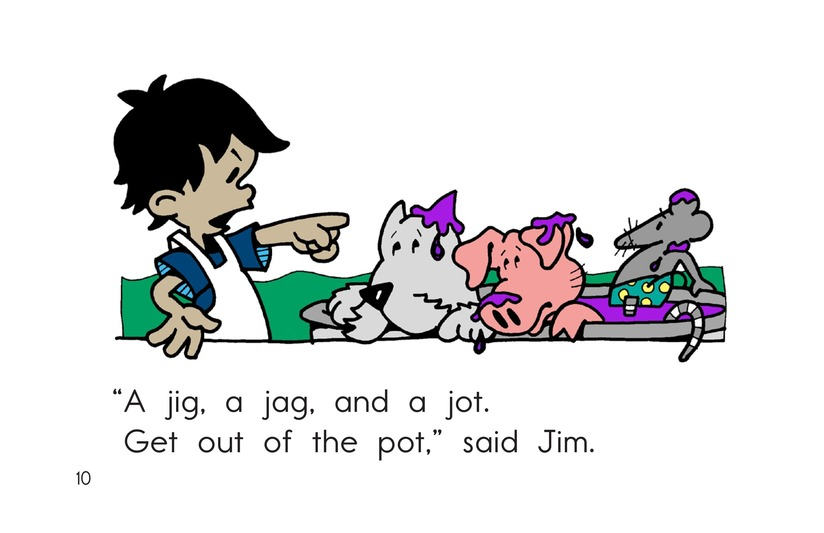 Book Preview For Jig, Jag, and Jog Page 10